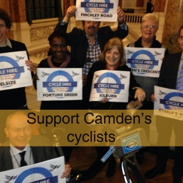 support camden's cyclists