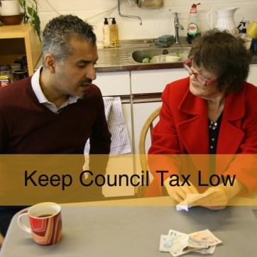 Keep Council Tax Low