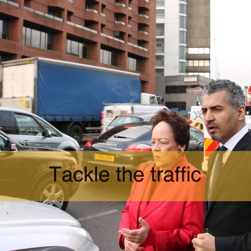 Tackle the traffic
