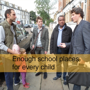 Enough school places for every child