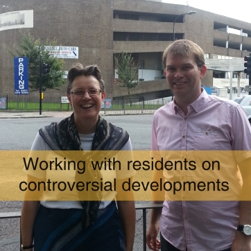 Working with residents on controversial developments